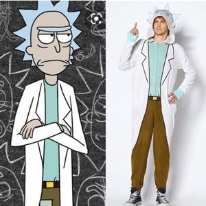 Rick and Morty onesie
